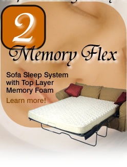 Memory Flex Sofa Sleep System